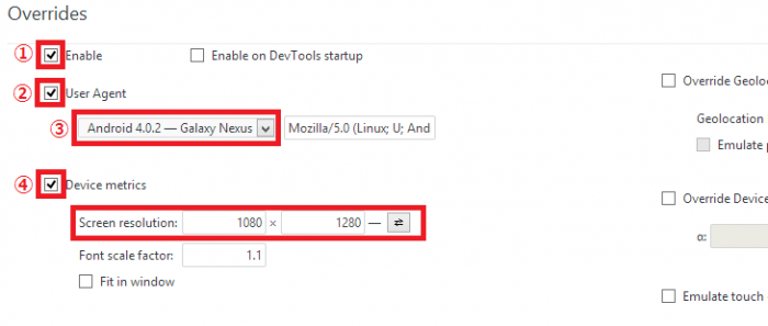 Google Chromeを使用してユーザーエージェントを変更する方法