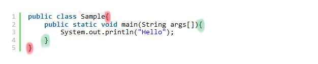 Javaの基本ルール